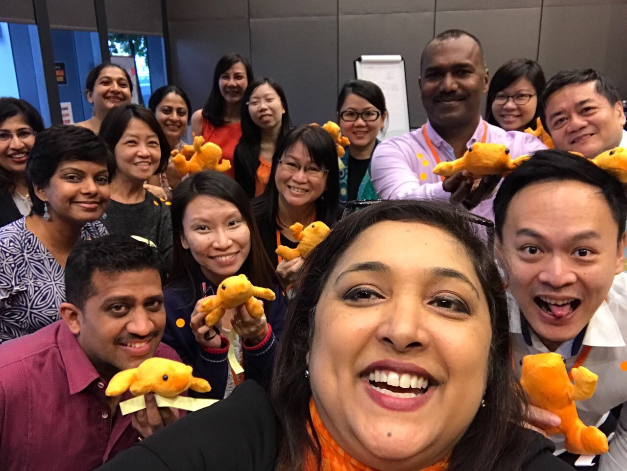 Orange Frog Happiness Workshop
